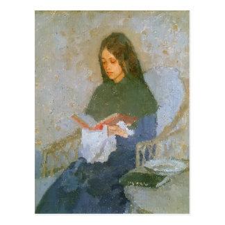 Den dyrbara boken av Gwen John Vykort