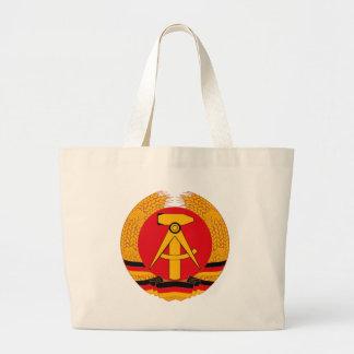 Den East Germany vapensköldtotot hänger lös Tote Bags