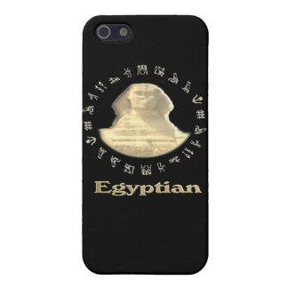 Den egyptiska sphinxen IPod täcker iPhone 5 Cover