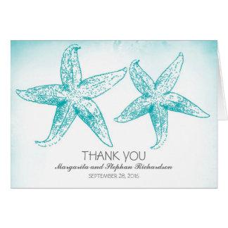 Den eleganta blåttsjöstjärnan kopplar ihop bröllop OBS kort