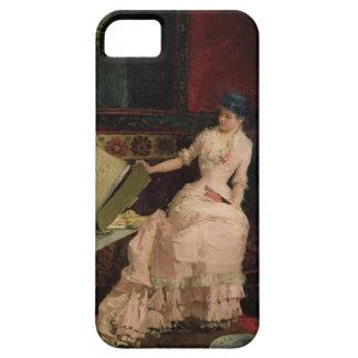 Den eleganta connoisseuren, 1883 (olja på kanfas) iPhone 5 skydd