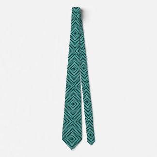 Den eleganta diagonala kontrollören skuggar av slips