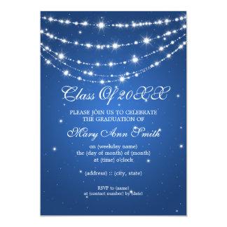 Den eleganta studentfesten som Sparkling, kedjar 12,7 X 17,8 Cm Inbjudningskort