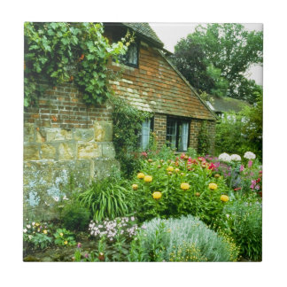 Den engelska stugan & landskap kakelplatta