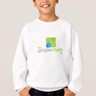 Den enkla kyrkliga ungdomsweatshirtsen tshirts