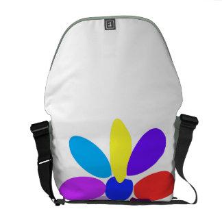Den enklaste blomman kurir väska