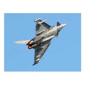 Den Eurofighter typhoonen Vykort