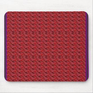 Den exotiska röda strukturmallen DIY tillfogar Mus Matta