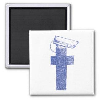 Den Facebook watchmanen kvadrerar magneten Magnet
