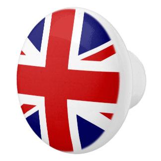 Den fackliga jackflagga av Förenade kungariket Knopp