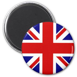 Den fackliga jackflagga magnet