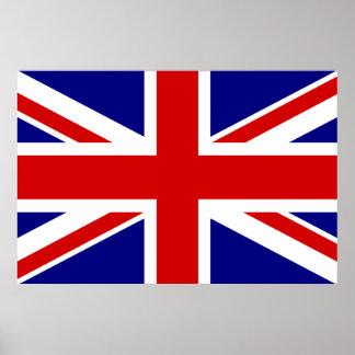 Den fackliga jackflagga poster