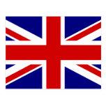 Den fackliga jackflagga vykort
