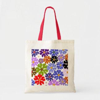 Den fallande moderna Designer#3a totot för blommar Budget Tygkasse