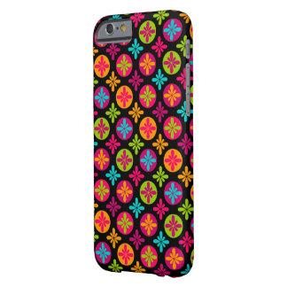 Den färgrika blommigten cirklar mönster barely there iPhone 6 fodral