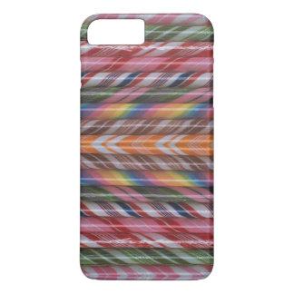 Den färgrika godisen klibbar iphone case