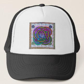 Den färgrika Hula ringrundan cirklar Keps