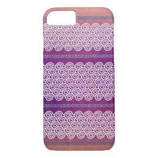 Den färgrika texturerade violeten vinkar