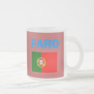 Den Faro* (Portugal) flygplatsen FAO kodifierar Frostad Glasmugg