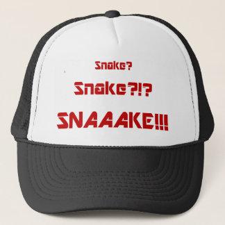 Den fasta ormen är död truckerkeps