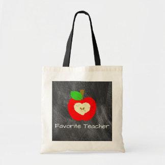 Den favorit- lärare Apple på svart tavlatoto Tygkasse