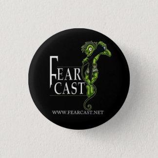 Den FearCast logotypen knäppas Mini Knapp Rund 3.2 Cm