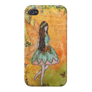 Den felika konsten för vår av Janelle Nichol iPhone 4 Cases