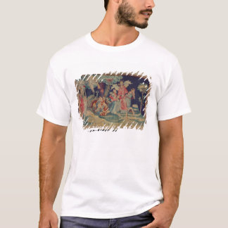 Den femte trumpeten och gräshopporna tee shirt