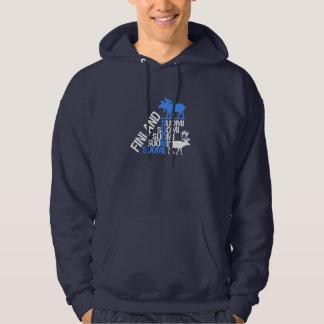 Den Finland älg- & renskjortan - välj stil Sweatshirt