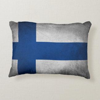 Den Finland flagga - kudde