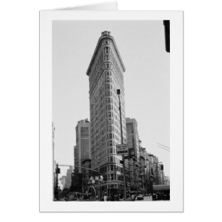 Den Flatiron byggnaden (fotoet) Hälsningskort