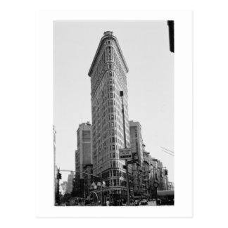 Den Flatiron byggnaden (fotoet) Vykort