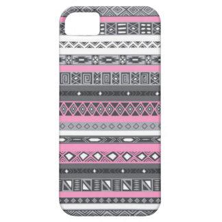 den flickaktigt aztec iphonen täcker iPhone 5 skydd