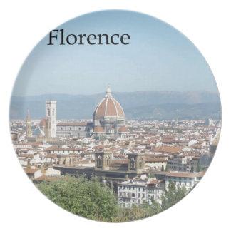 Den Florence duomoen från Michelangelo kvadrerar ( Tallrik