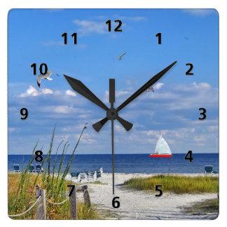 Den Florida buktkusten tar tid på Fyrkantig Klocka