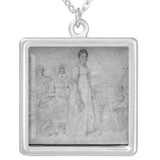 Den Forestier familjen, 1806 Silverpläterat Halsband