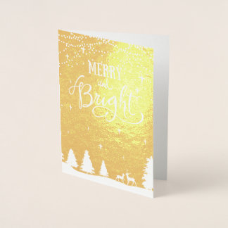 den företags vinterplatsen Julhälsningar Folierat Kort