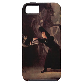 Den förhäxte manen av Francisco Goya 1798 iPhone 5 Case-Mate Skal
