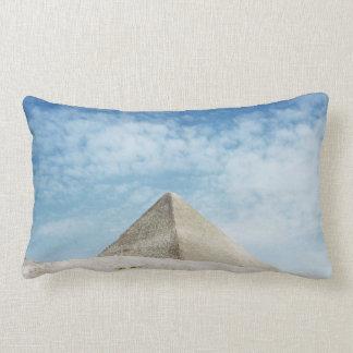 Den forntida pyramidegyptenen, storartade Giza Lumbarkudde