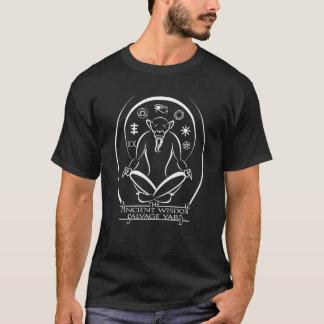 Den forntida utslagsplatsen för logotyp för tee shirt