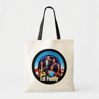 Den FÖRSTA FAMILJEN hänger lös Tote Bag