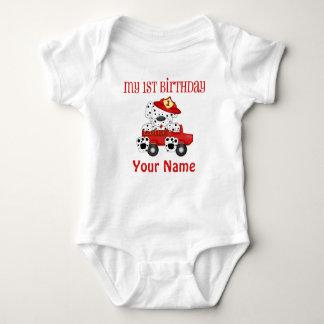 Den första födelsedagen avfyrar lastbilen tshirts