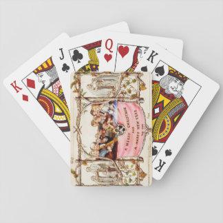 Den första julkortet casinokort