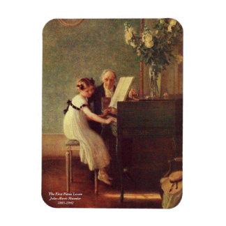 Den första pianokursen vid Muenier Magnet