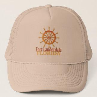 Den Fort Lauderdale Florida kaptenen rullar hatten Truckerkeps