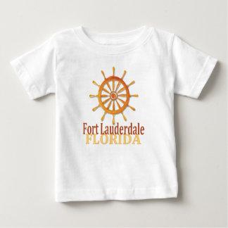 Den Fort Lauderdale Florida kaptenen rullar T-shirts