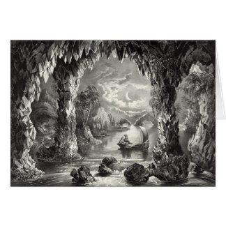 Den förtrollade grottan hälsningskort