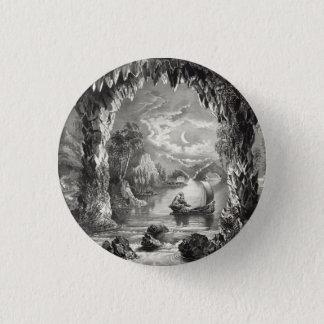 Den förtrollade grottan mini knapp rund 3.2 cm