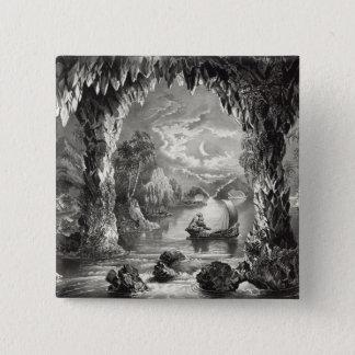 Den förtrollade grottan standard kanpp fyrkantig 5.1 cm
