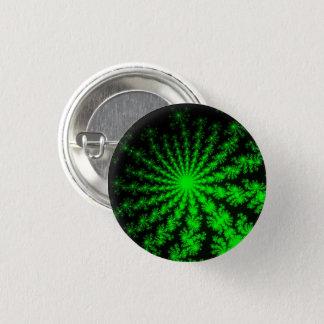 Den främmande fractalen brast litet knäppas mini knapp rund 3.2 cm